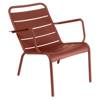Lounger LUXEMBOURG de Fermob, ocre rouge