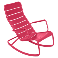 Rocking chair LUXEMBOURG de Fermob, Rose praline