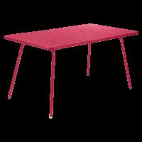 Table LUXEMBOURG pour 6 personnes de Fermob, Rose praline