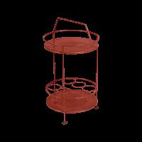 Bar portatif MONTMARTRE de Fermob, ocre rouge