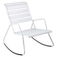 Rocking Chair MONCEAU de Fermob, Blanc coton