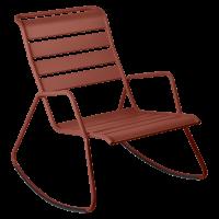 Rocking Chair MONCEAU de Fermob, ocre rouge