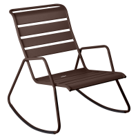 Rocking Chair MONCEAU de Fermob, Rouille