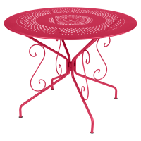 Table MONTMARTRE de Fermob D. 96 Rose praline