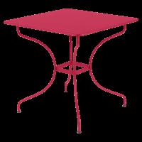 Table carrée OPÉRA de Fermob, Rose praline