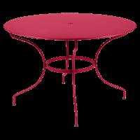 Table ronde OPÉRA D.96 ou D.117 cm de Fermob, D. 117, Rose praline