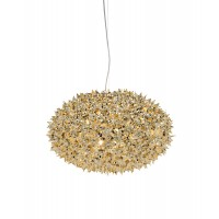 Suspension BLOOM METALLISE de Kartell, 2 tailles, 4 couleurs