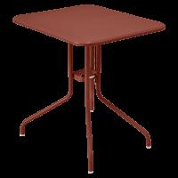 Table rabattable PÉTALE de Fermob 60 cm, ocre rouge