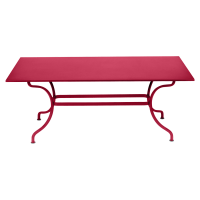 Table ROMANE 180 cm de Fermob, Rose praline