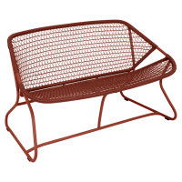 Banquette SIXTIES de Fermob, Ocre rouge