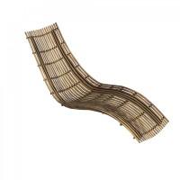 Chaise longue SWING de Unopiu