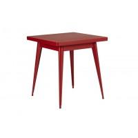 Table 55 de Tolix, Piment, 70 x 70