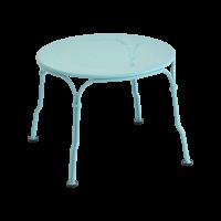 Table basse 1900 de Fermob, Bleu lagune