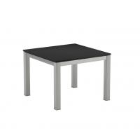 Table basse en verre TABOELA de Royal Botania, 50 x 50, Noir