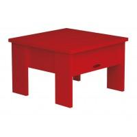 Table basse NEW-ENGLAND de Royal Botania, Rouge