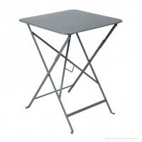 Table carrée BISTRO 57x57 gris orage de Fermob