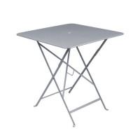 Table carrée BISTRO 71x71 gris orage de Fermob