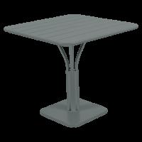 Table carrée LUXEMBOURG de Fermob, 23 coloris