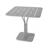 Table carrée LUXEMBOURG de Fermob, Gris métal