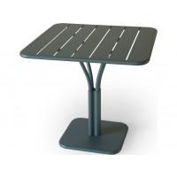 Table carrée LUXEMBOURG de Fermob, Gris orage