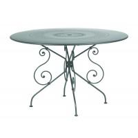 Table MONTMARTRE de Fermob D.117, Gris Orage