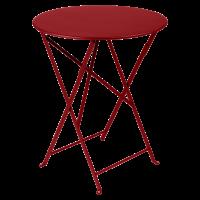 Table ronde pliante BISTRO de Fermob, D.60 x H.74 cm, 23 coloris