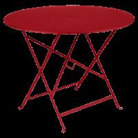 Table ronde pliante BISTRO de Fermob, D.96 x H.74 cm, 22 coloris