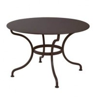 Table ronde ROMANE 117 cm de Fermob rouille