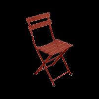 Chaise TOM POUCE de Fermob, ocre rouge
