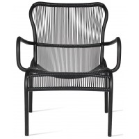 Chaise lounge LOOP de Vincent Sheppard, Black