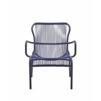Chaise lounge LOOP de Vincent Sheppard, Indigo