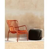 Chaise lounge LOOP de Vincent Sheppard, Terracotta