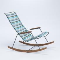 Rocking chair CLICK de Houe, multi vert