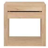Chevet AZUR d'Ethnicraft, 1 tiroir, Chêne