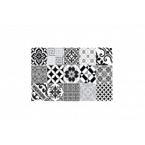 Set de table ECLECTIC BLACK AND WHITE de Beija Flor