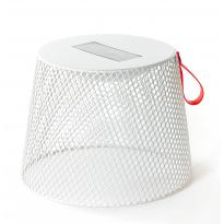 Pouf / Table basse luminescente IVY de Emu, Blanc mat