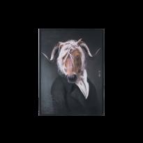 Tableau portraits COLLECTOR de Ibride, 4 modèles