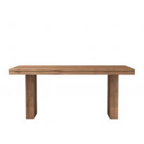 Table TECK DOUBLE d'Ethnicraft, 3 dimensions