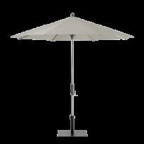Parasol ALU-TWIST EASY de Glatz, Rond, D.300 cm, 151 Ash