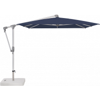 Parasol déporté SUNWING® CASA de Glatz, 4 tailles, 2 coloris de structure, 15 coloris de toile