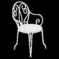 Fauteuil MONTMARTRE de Fermob blanc coton