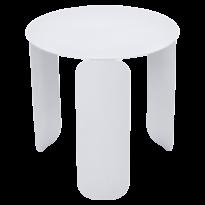 Table basse BEBOP de Fermob, D. 45, Blanc coton