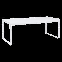 Table BELLEVIE de Fermob blanc coton