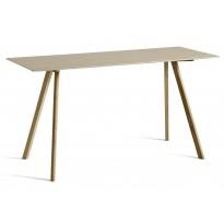 Table COPENHAGUE CPH30 200 X 80 X H.105 CM de Hay, Plateau et pieds en chêne vernis naturel
