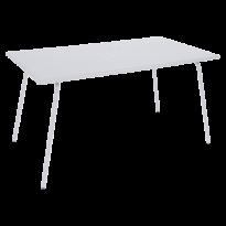 Table haute MONCEAU de Fermob, 146x80x74, Blanc coton