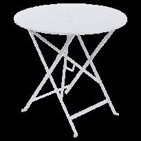 Table pliante FLORÉAL de Fermob D.77 blanc coton