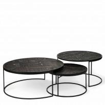 Set de tables basses ANCESTORS TABWA ROUND NESTING d