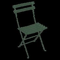 Chaise en résine Duraflon® BISTRO de Fermob, Vert Cèdre