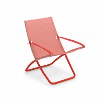 Chaise longue SNOOZE de Emu, Rouge
