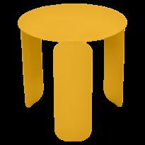 Table basse BEBOP de Fermob, D. 45, Miel